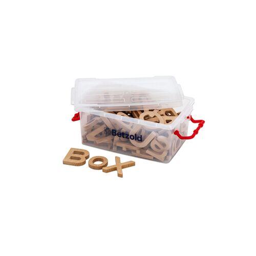 Betzold Holzbuchstaben, 90 Stück