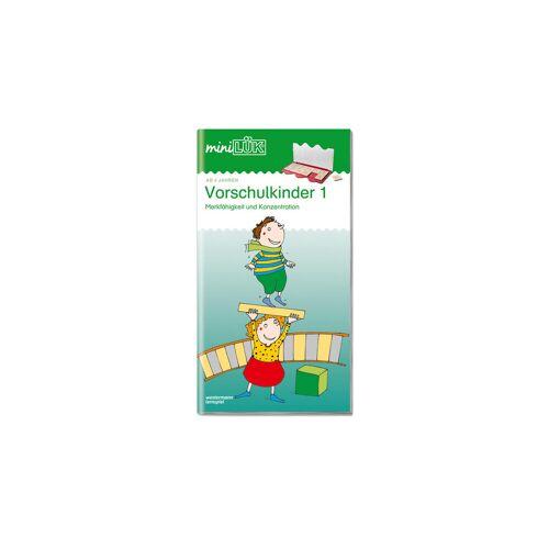 miniLÜK Übungen für Vorschulkinder 1