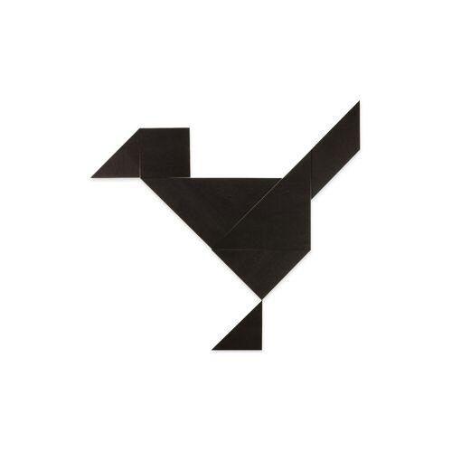Betzold Riesen-Tangram-Teile aus Kunststoff, schwarz, in Box