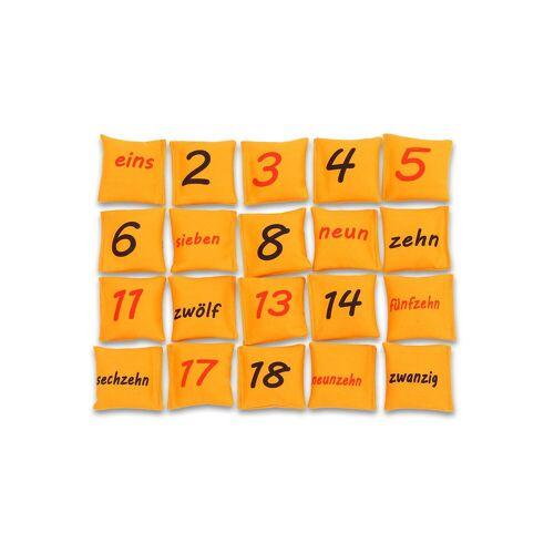 Betzold-Sport Zahlen auf Bohnensäckchen