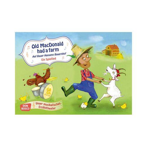 Don Bosco Bildkarten für das Kamishibai: Old MacDonald had a farm