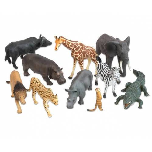 Betzold Afrikanische-Tiere Set, 10-tlg