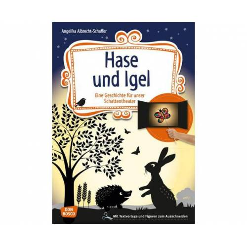Don Bosco Hase und Igel - Schattentheater-Set