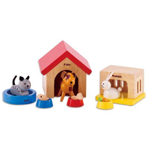 Hape Puppenhaus Zubehör Haustiere