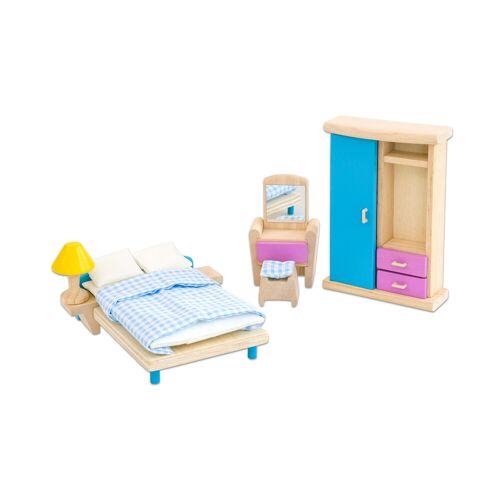 """PlanToys Puppenhausmöbel """"Neo"""" Schlafzimmer"""