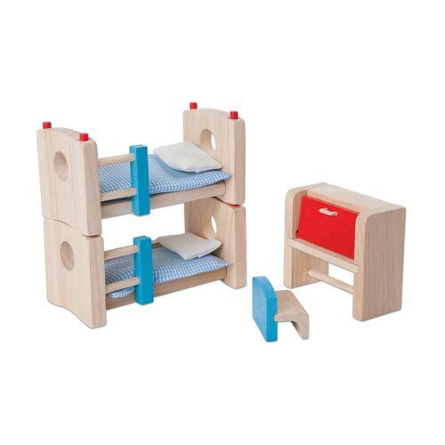 PlanToys Puppenhausmöbel Kinderzimmer