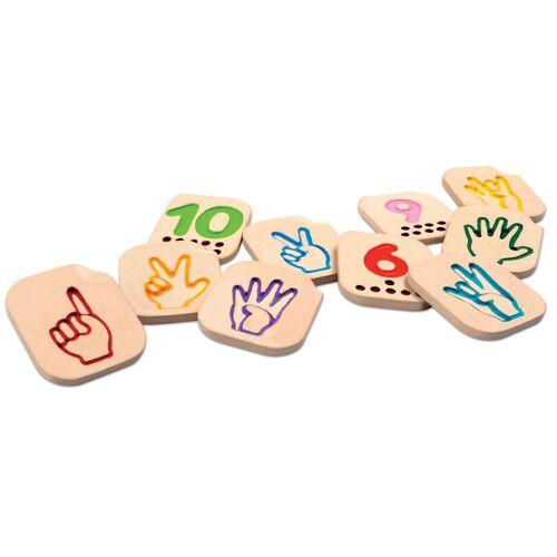 PlanToys Finger-Zahlen