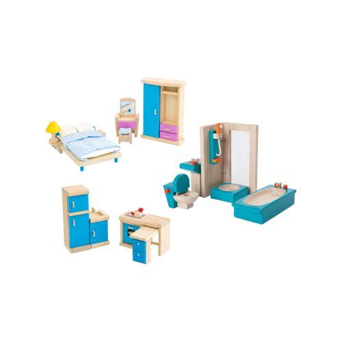 PlanToys Puppenhausmöbel Set 1