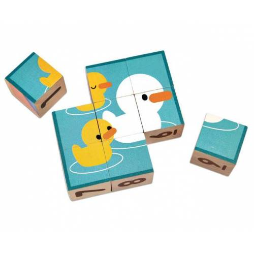 PlanToys Puzzle-Würfel