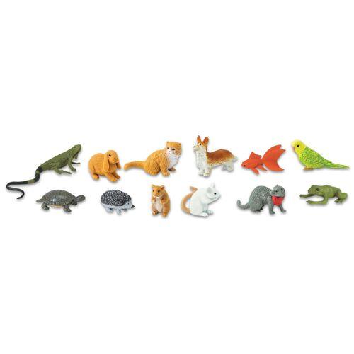 Safary Ltd Haustiere, Figuren Set 12-teilig