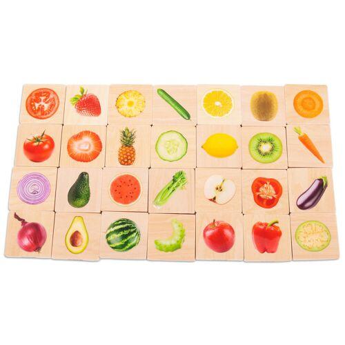 TickIt Obst-und-Gemüse-Memo aus Holz