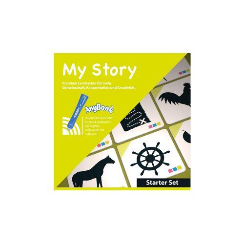 AnyBook My Story - Starter-Set Anybook Reader mit Lernspielkarten