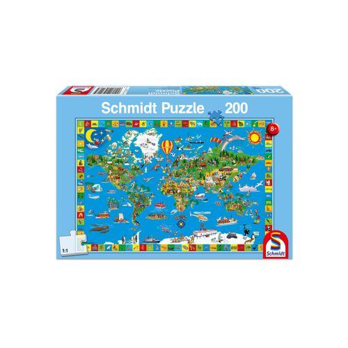 """Schmidt Spiele Puzzle """"Deine bunte Erde"""", 200 Teile"""