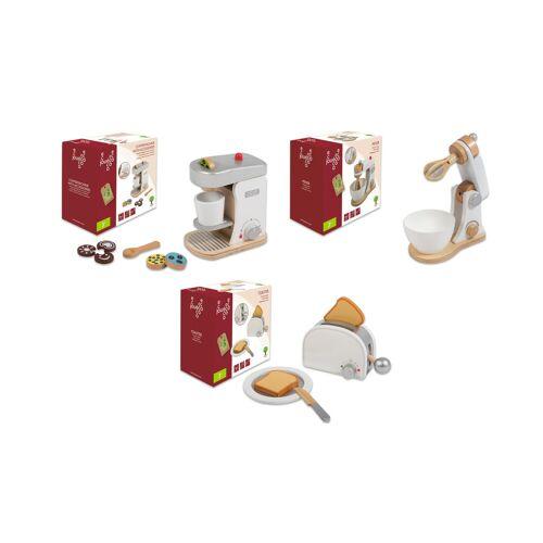 Jouéco Küchengeräte 3er-Set aus Holz