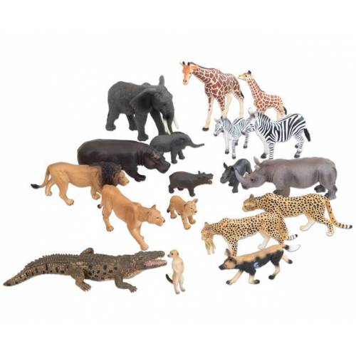 Betzold Afrikanische Tiere, 18-tlg.
