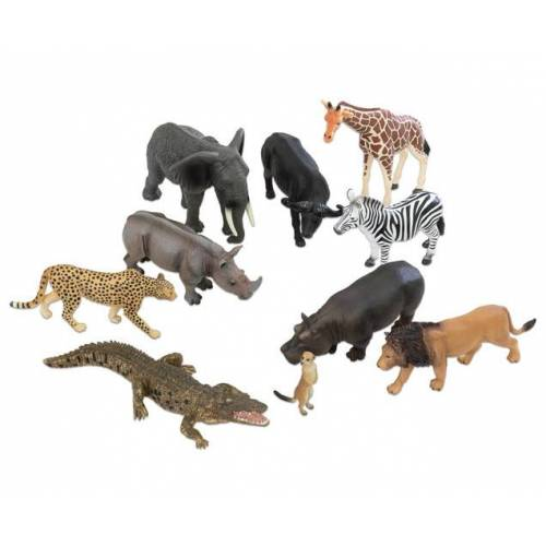 Betzold Afrikanische Tiere, 10-tlg. Set