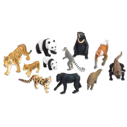 Betzold Asiatische Tiere, 11-tlg. Set
