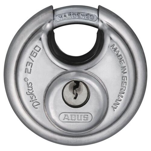 ABUS Diskus 23/60 Vorhangschloss verschiedenschließend mit 18 Schlüssel