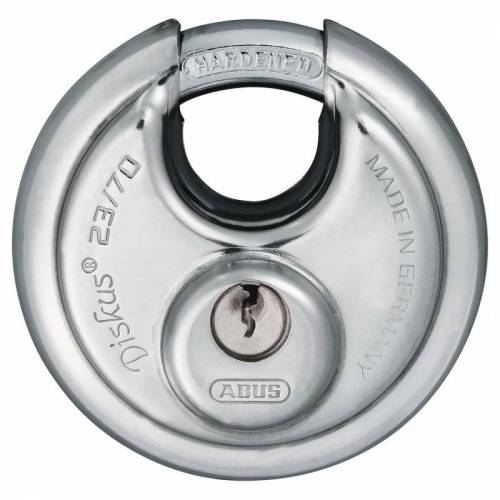 ABUS Diskus 23/70 Vorhangschloss verschiedenschließend mit 12 Schlüssel