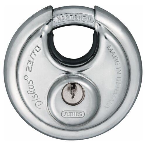 ABUS Diskus 23/70 Vorhangschloss verschiedenschließend mit 19 Schlüssel