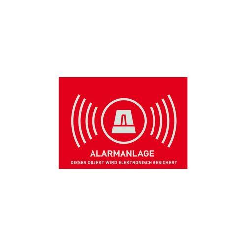 ABUS AU1322 Warn-Aufkleber Alarm ohne ABUS Logo 148 x 105 mm Tür Fenster