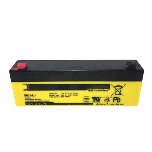 ABUS Bleigel Akku 12V 2,1Ah BT2020 VdS C Sun wartungsfrei Batterie Auslaufsicher
