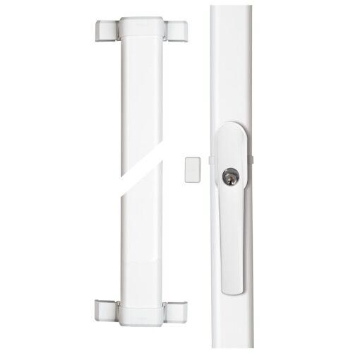 ABUS FOS550A W weiß Fensterstangenschloss mit Alarm gleichschließend