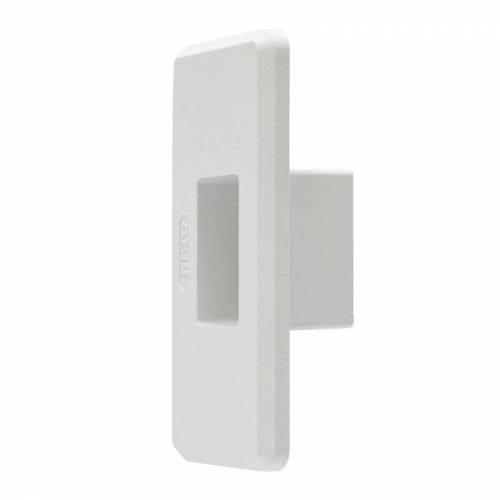 ABUS WSB70 Wandschließblech für Türzusatzschlösser 70XX Serie Farbe weiß