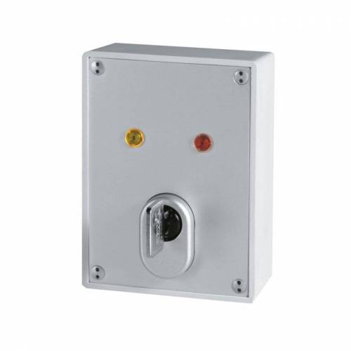ABUS SE1000 Aufputz Schlüsselschalter mit C83 Zylinder + 10 Schüssel