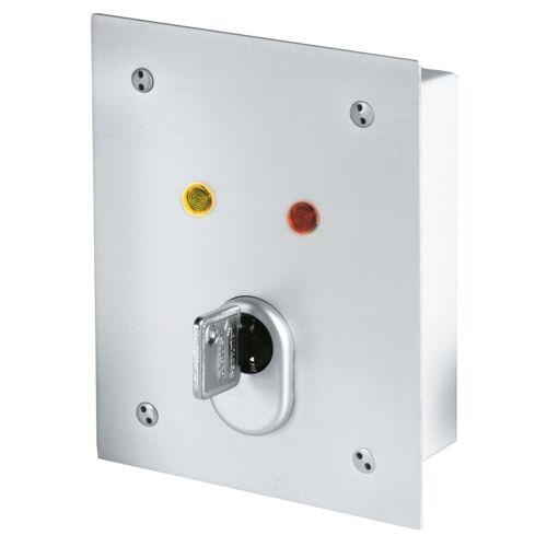 ABUS SE1100 Unterputz Schlüsselschalter UP 12V C83 Zylinder + 3 Schüssel