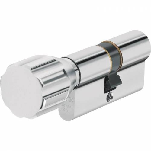 ABUS ECK550 Knaufzylinder Z50/K45 mm Wendeschlüssel mit 3 Schlüssel