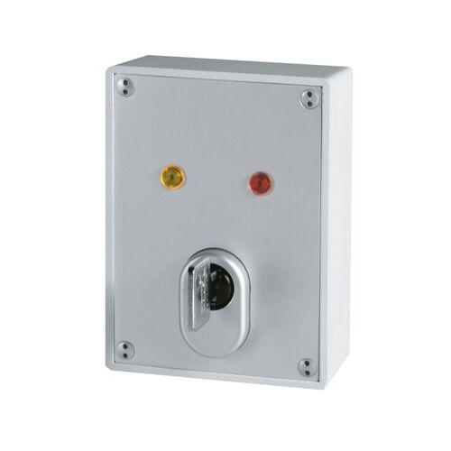 ABUS SE1000 Aufputz Schlüsselschalter mit C83 Zylinder + 8 Schüssel