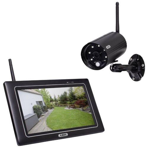 ABUS PPDF16000 OneLook Full-HD Videoüberwachungsset Monitor Kamera