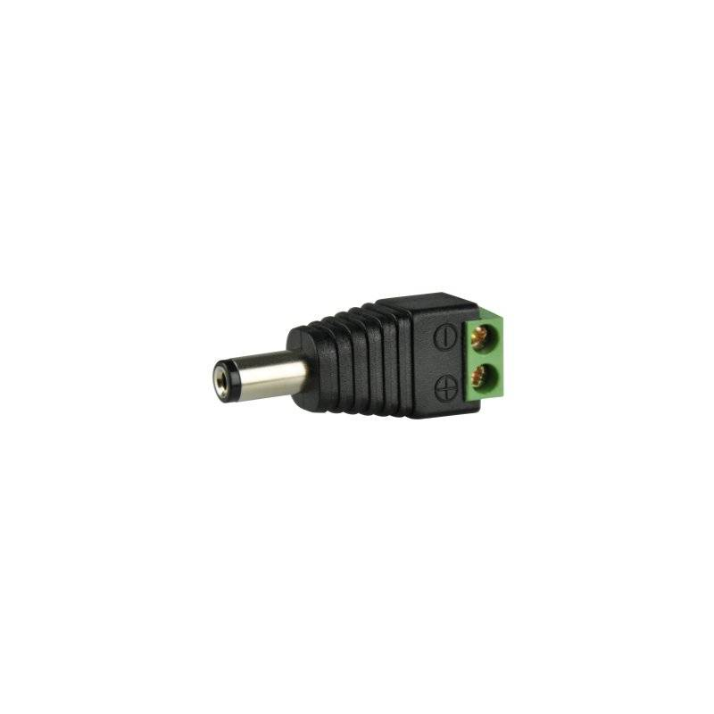 ABUS TVAC35800 DC/2-Pin-Adapter Spannungsversorgung Kamera Rundstecker (DC)