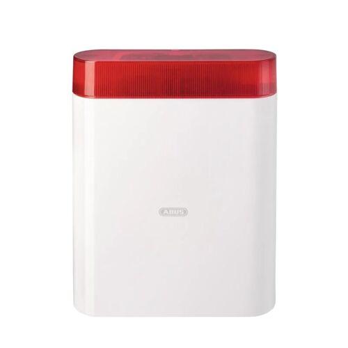 ABUS AZSG10000 Draht-Außensirene rot Alarmsirene für Alarmanlage Sirene Blitz