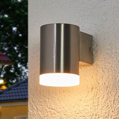 Lindby Nach unten ausgerichtete LED-Außenwandlampe Eliano