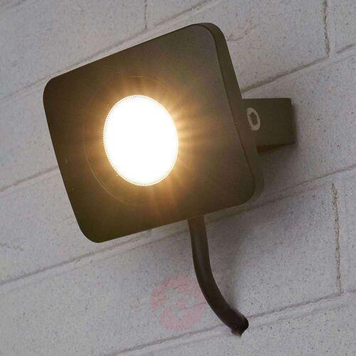 Lampenwelt.com LED-Außenwandstrahler Duke aus Aluminium, 10W