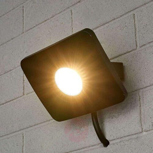 Lampenwelt.com LED-Außenwandstrahler Duke aus Aluminium, 20W