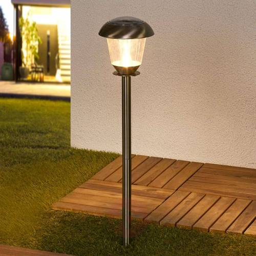 Lindby LED-Solarlampe Nela für den Garten