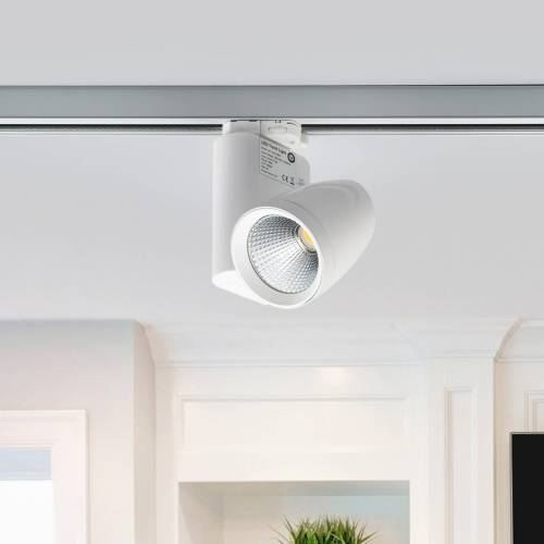 Lampenwelt.com Colin - LED-Strahler für 3-Phasen-Stromschiene