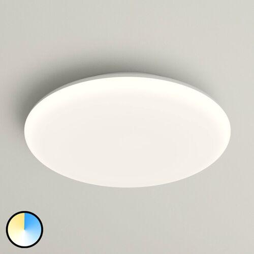 Lampenwelt.com LED-Deckenlampe Azra, weiß, rund, IP54, Ø 30 cm