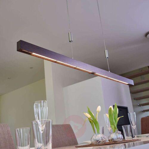 Lucande Edle LED-Balkenpendelleuchte Nora - 118 cm
