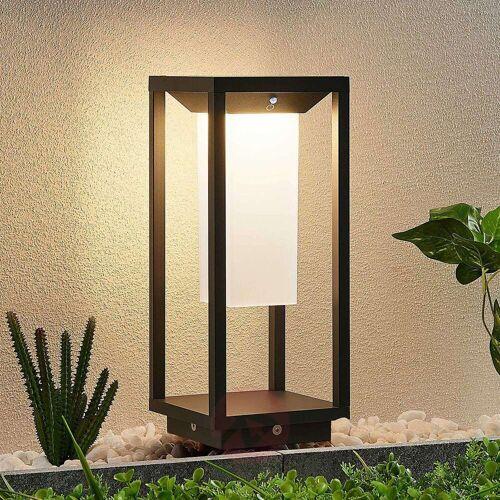 Lucande Eliel LED-Solarsockelleuchte, 34 cm