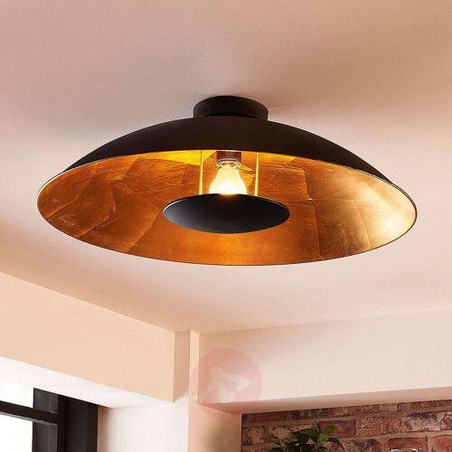 Lindby Schwarz-goldene Deckenlampe Emilienne