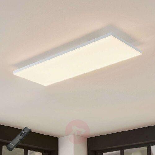 Lampenwelt.com LED-Panel Blaan CCT Fernbedienung 79,5 x 29,5 cm