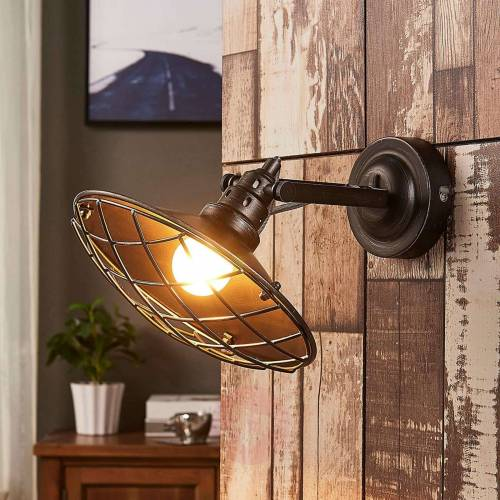 Lindby Pekka - Wandlampe mit Gitterabdeckung