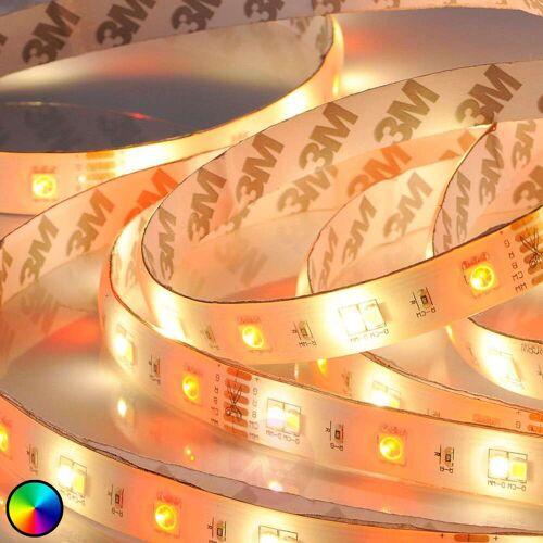 Lindby RGBW-LED-Strip Neila mit Fernbedienung, 500cm