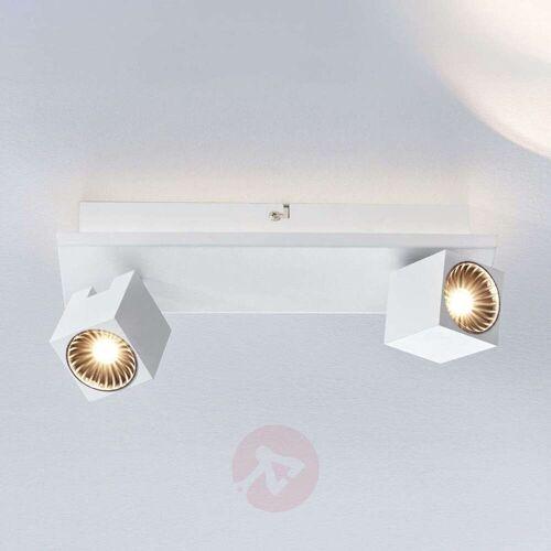 Lampenwelt.com LED-Deckenlampe Taly, 2 weiße Strahler