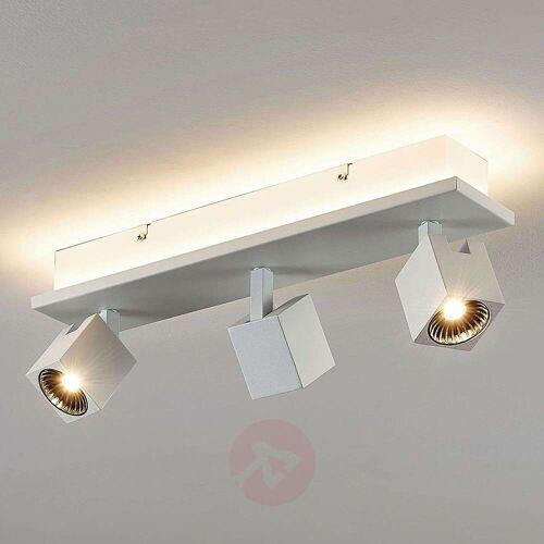 Lampenwelt.com LED-Deckenlampe Taly, 3 weiße Strahler