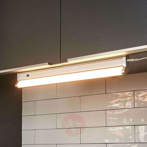 Lampenwelt.com Unterschrankleuchte Devin mit LEDs, schwenkbar